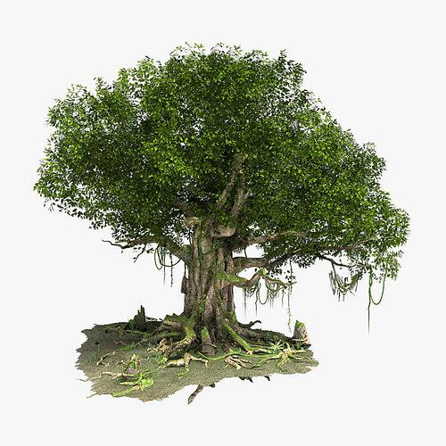 Как сделать в 3d max деревья