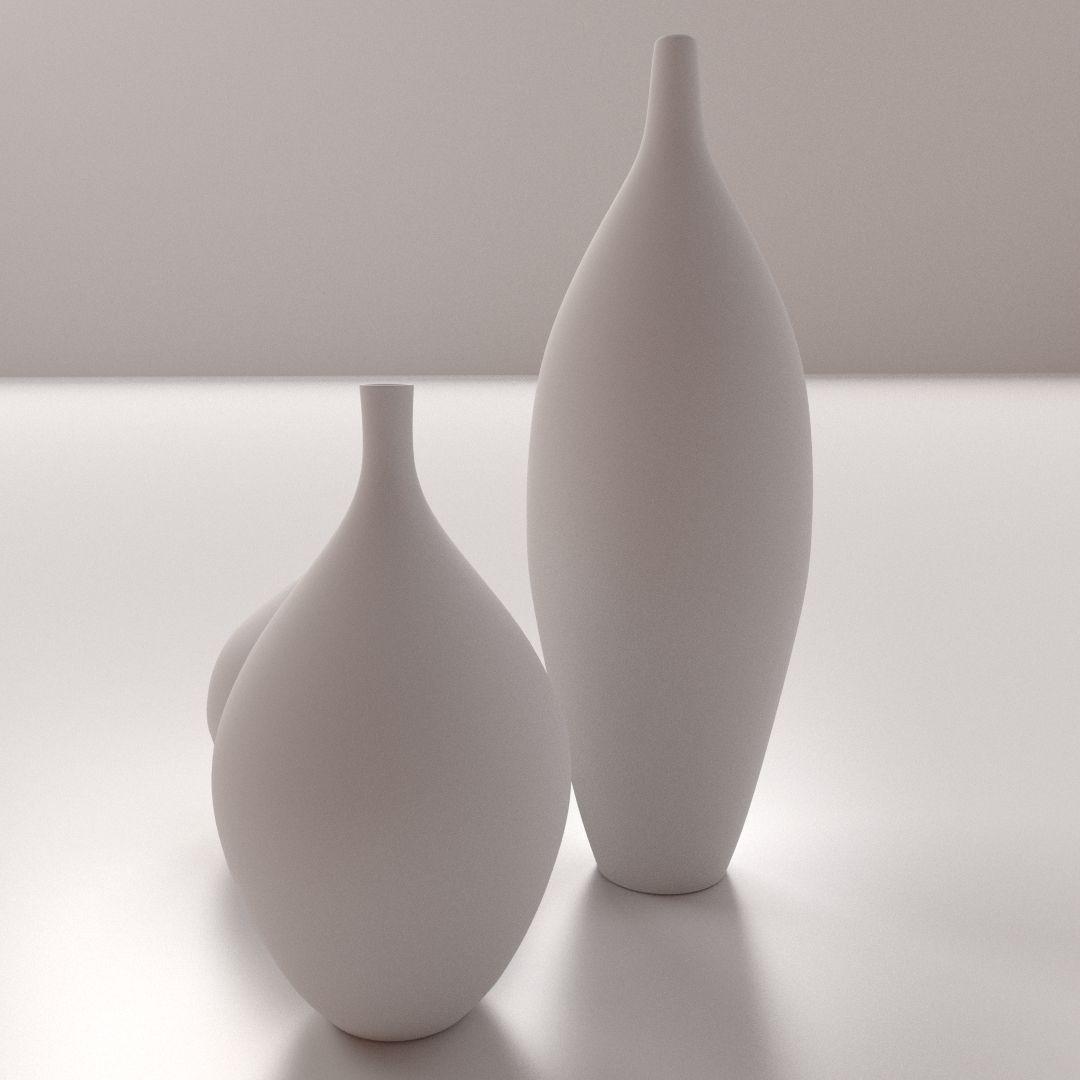 modern vases d model ds fbx blend dae -  modern vases d model ds fbx blend dae