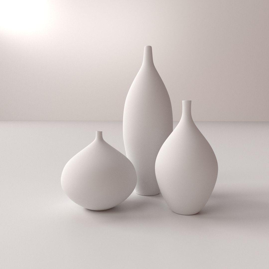 Modern Vases 3d Model Cgtrader