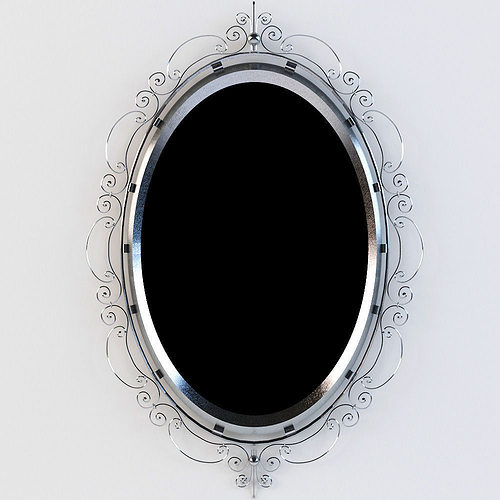 Forged mirror 3d model max for Mirror 3d model