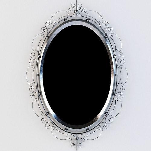 mirror 3d model forged mirror 3d model max