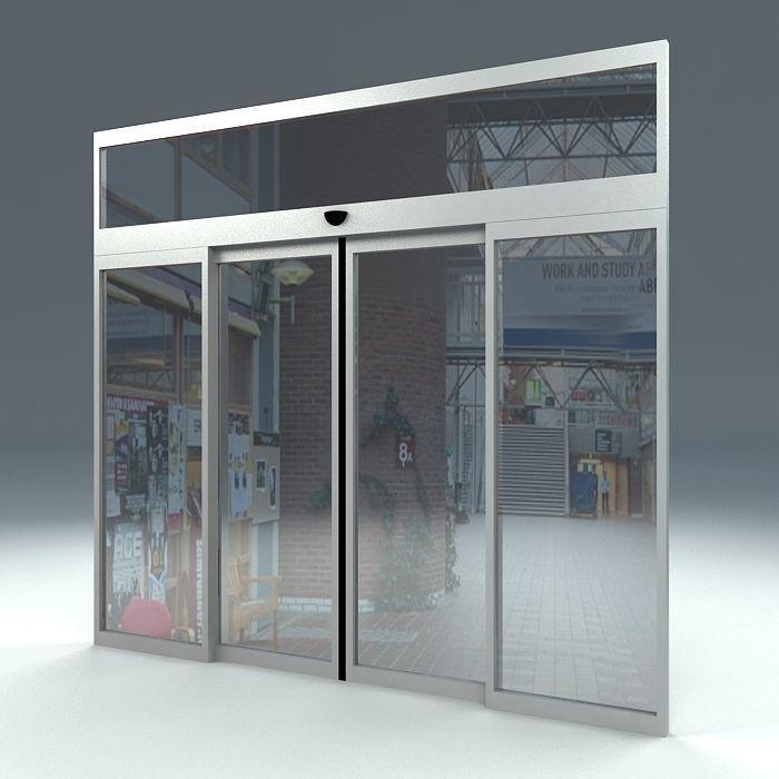 ... automatic sliding door 3d model max obj 3ds fbx ma mb dae 2 ... & AUTOMATIC SLIDING DOOR free 3D model MAX OBJ 3DS FBX MA MB DAE Pezcame.Com