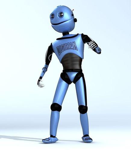 DIGIMAN COOL ROBOT3D model