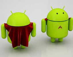 Super Android 3D Model