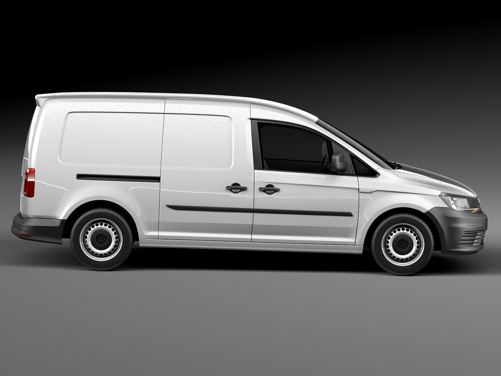 volkswagen caddy maxi van 2016 3d model max obj 3ds fbx c4d lwo lw lws. Black Bedroom Furniture Sets. Home Design Ideas