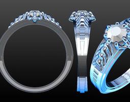 Kims engagement ring 3D Model