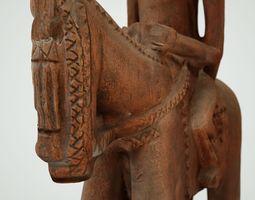 Man on horse 3D Model