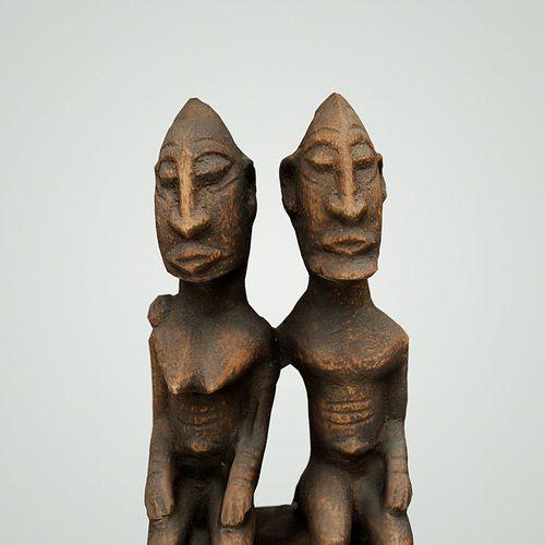 couple on wooden sphere 3d model obj mtl 1