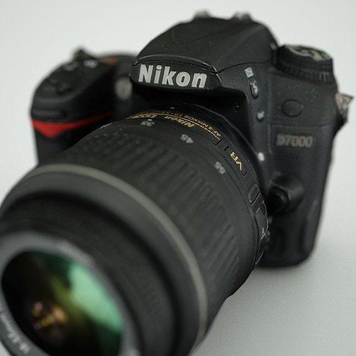 nikon d7000 3d model low-poly obj mtl 1