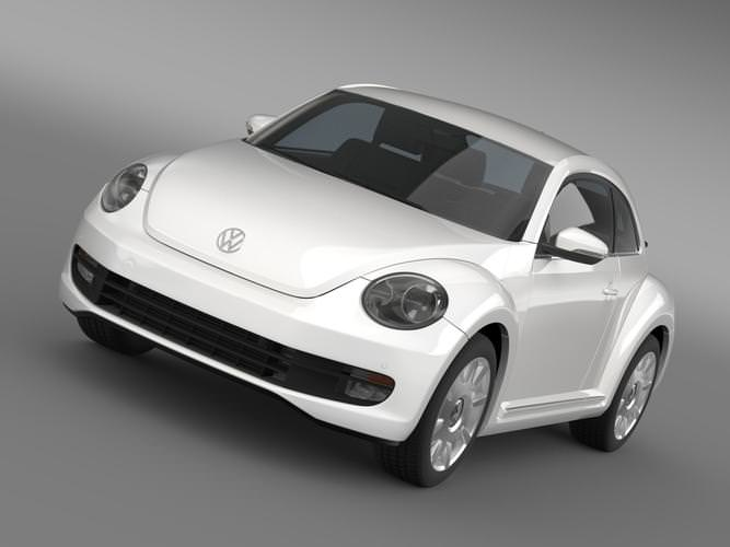 VW I Beetle 20153D model