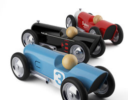 Mini Toy Cars Thunder by Baghera 3D Model