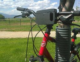 3d printable model kyocera brigadier e6782 bicycle mounting case