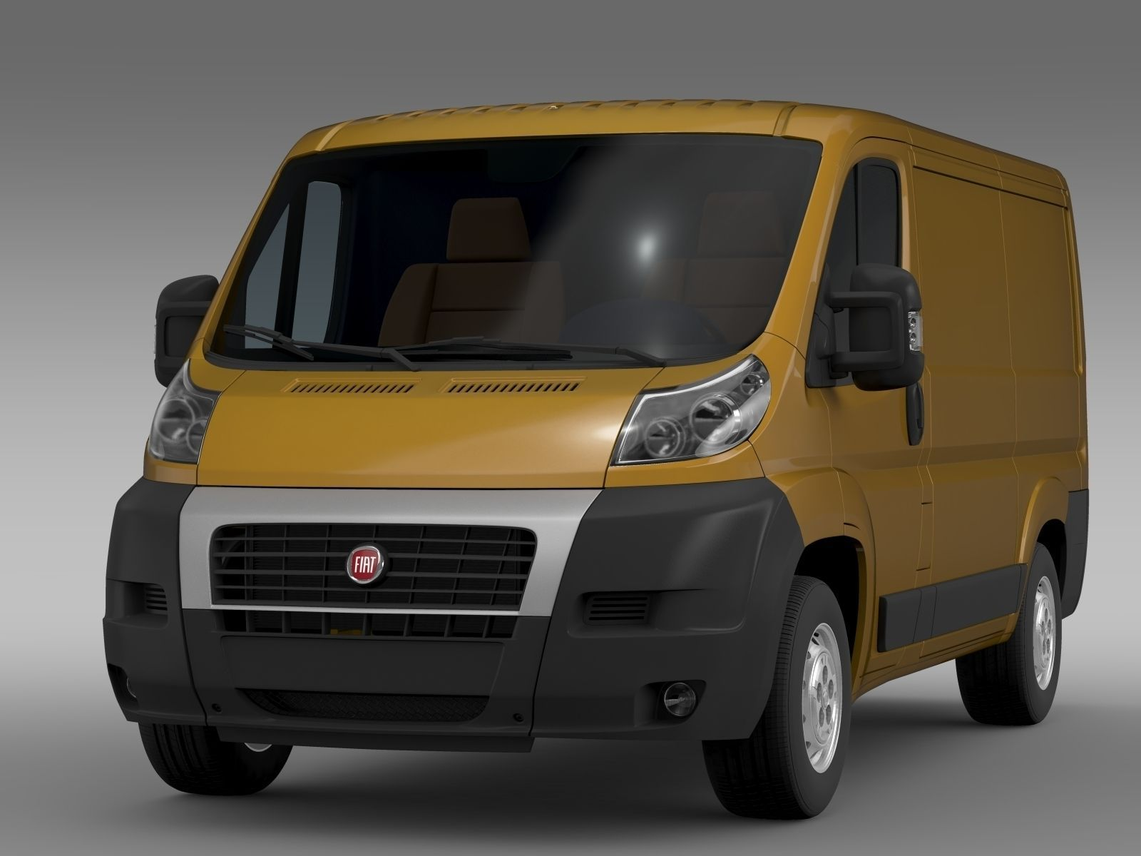 fiat ducato van l1h1 2006 2014 3d model max obj 3ds fbx c4d lwo lw lws. Black Bedroom Furniture Sets. Home Design Ideas