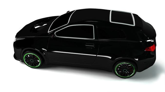 Racing car3D model