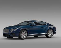 Bentley Continental GT V8 2015 3D Model
