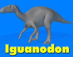 3D Iguanodon