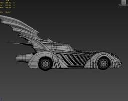Batmobile batman forever 3D model