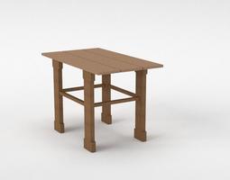 End Table 3D asset