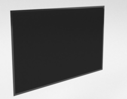 TV Flat 3D model