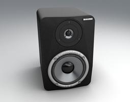 Bookshelf Speaker M-Audio LX4 3D model
