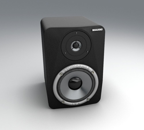 Bookshelf Speaker M-Audio LX43D model