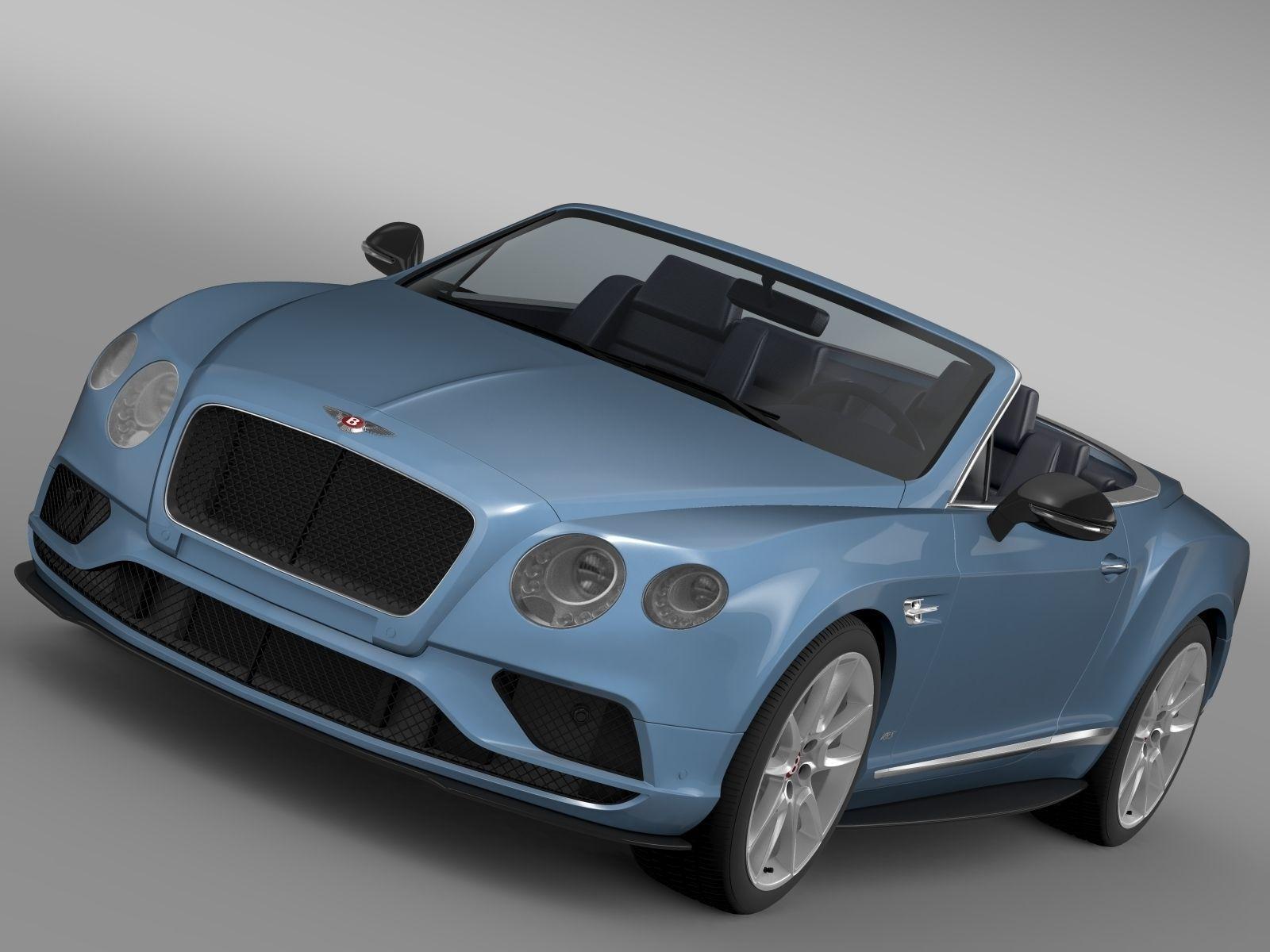 Bentley Continental Gt V8 S Convertible 2017 Model