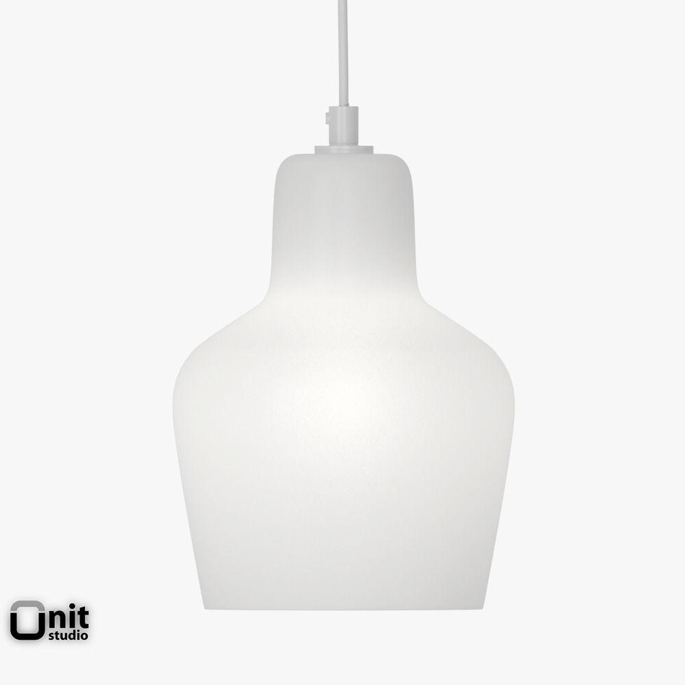 artek lighting. artek pendant lamp a440 3d model max obj 3ds fbx dwg 3 lighting