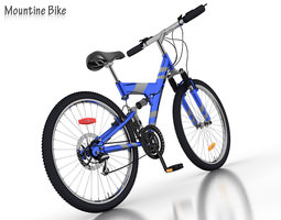 Mountine Bike  3D Model