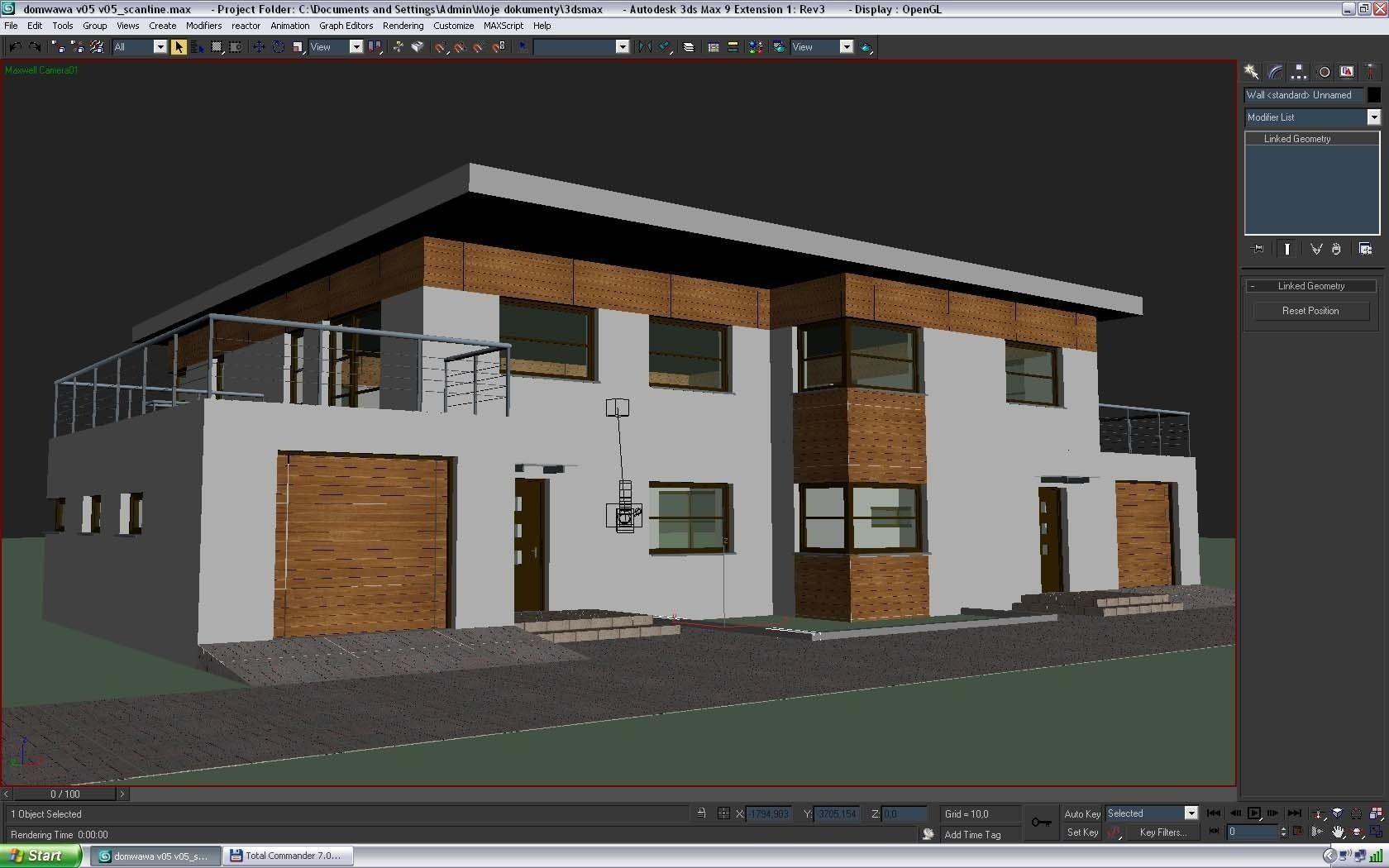 new model contemporary house minimalist modern house 3d model max 3ds fbx c4d lwo