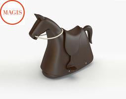 3d magis rocking horse toy
