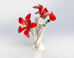 3D print model Elegant Vase decorating