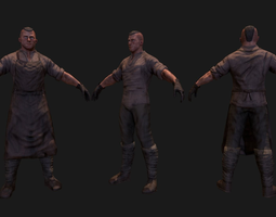 3D asset Medieval blacksmith