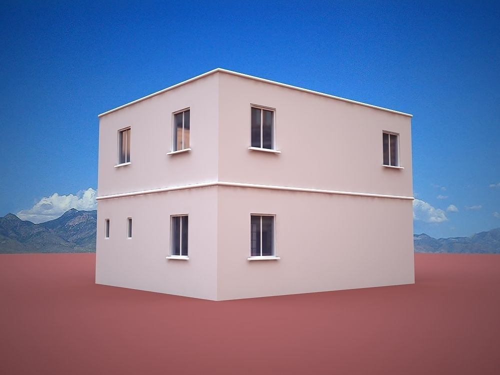 Home cubic free 3d model max obj 3ds fbx ma mb dwg - The cubic home ...