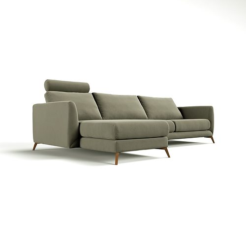boconcept fargo sofa 3d cgtrader. Black Bedroom Furniture Sets. Home Design Ideas