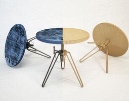 3D model DIESEL coffee table by Moroso
