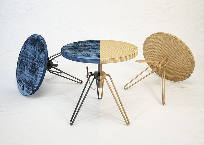 DIESEL Coffee Table By Moroso Free 3D Model