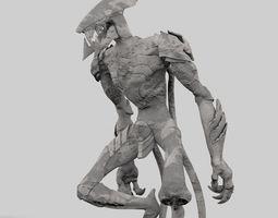 3d print model monster