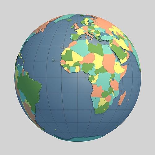 3D model Globe 03 | CGTrader on