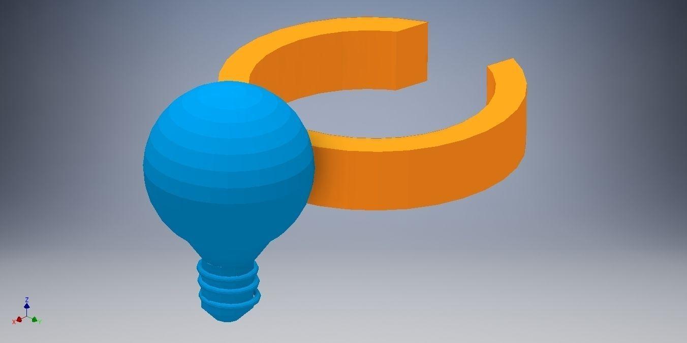 Light bulb Ring