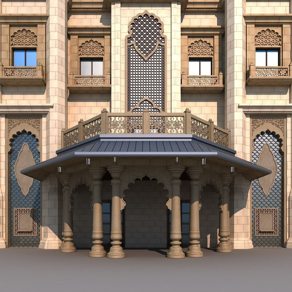 Arch 3d Model Free Download
