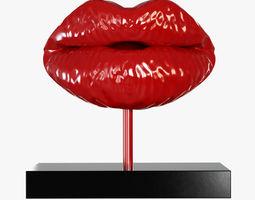 Figurine Lips 02 3D Model