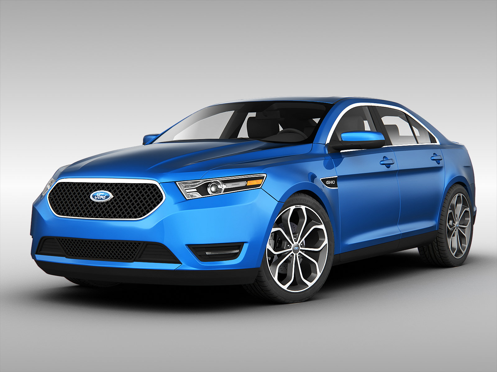 ford taurus sho 2013 3 3d models. Black Bedroom Furniture Sets. Home Design Ideas