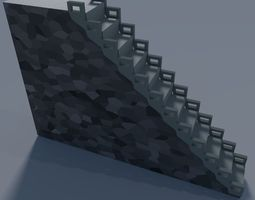 Stairs Small Basic 3D model