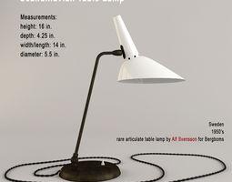 Scandinavian Table Lamp 3D model