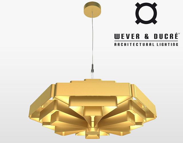 wever ducre jules wabbes modern chandelier 3d model max obj mtl fbx 1