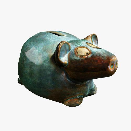 Moneybox pig3D model