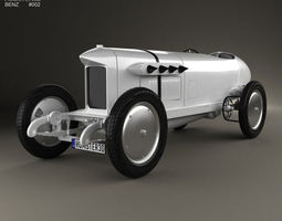 Benz Blitzen 1909 3D Model