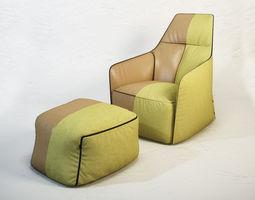 POLIFORM Santa Monica Lounge 3D model