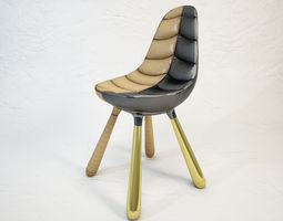 3d model established and sons tudor chair by jaime hayon
