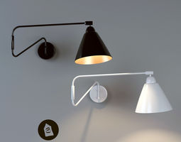 Wall Lamp House Doctor 3D